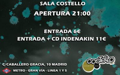 Concierto Sala Costello 2016
