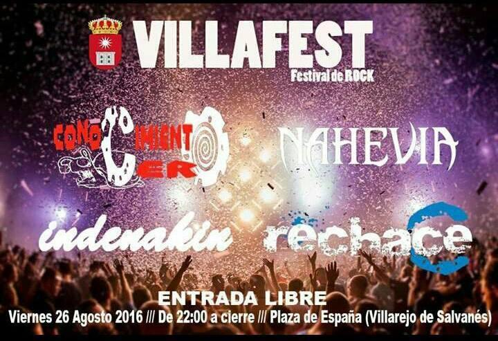 Festival VillaFest Villarejo de Salvanes 2016